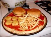 Quick, honey, call our attorney.  I've invented the McPizza!