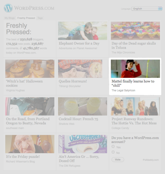WordPressFrontPage